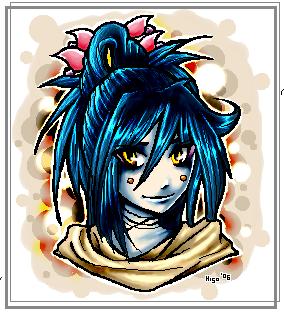 - paintchat - tribal hair. by devil-junk