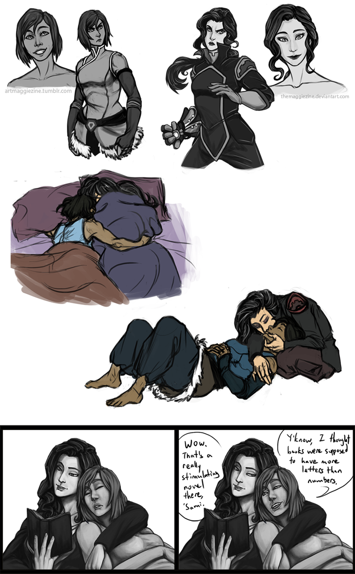 LOK- Korrasami Dump by TheMaggiezine on DeviantArt