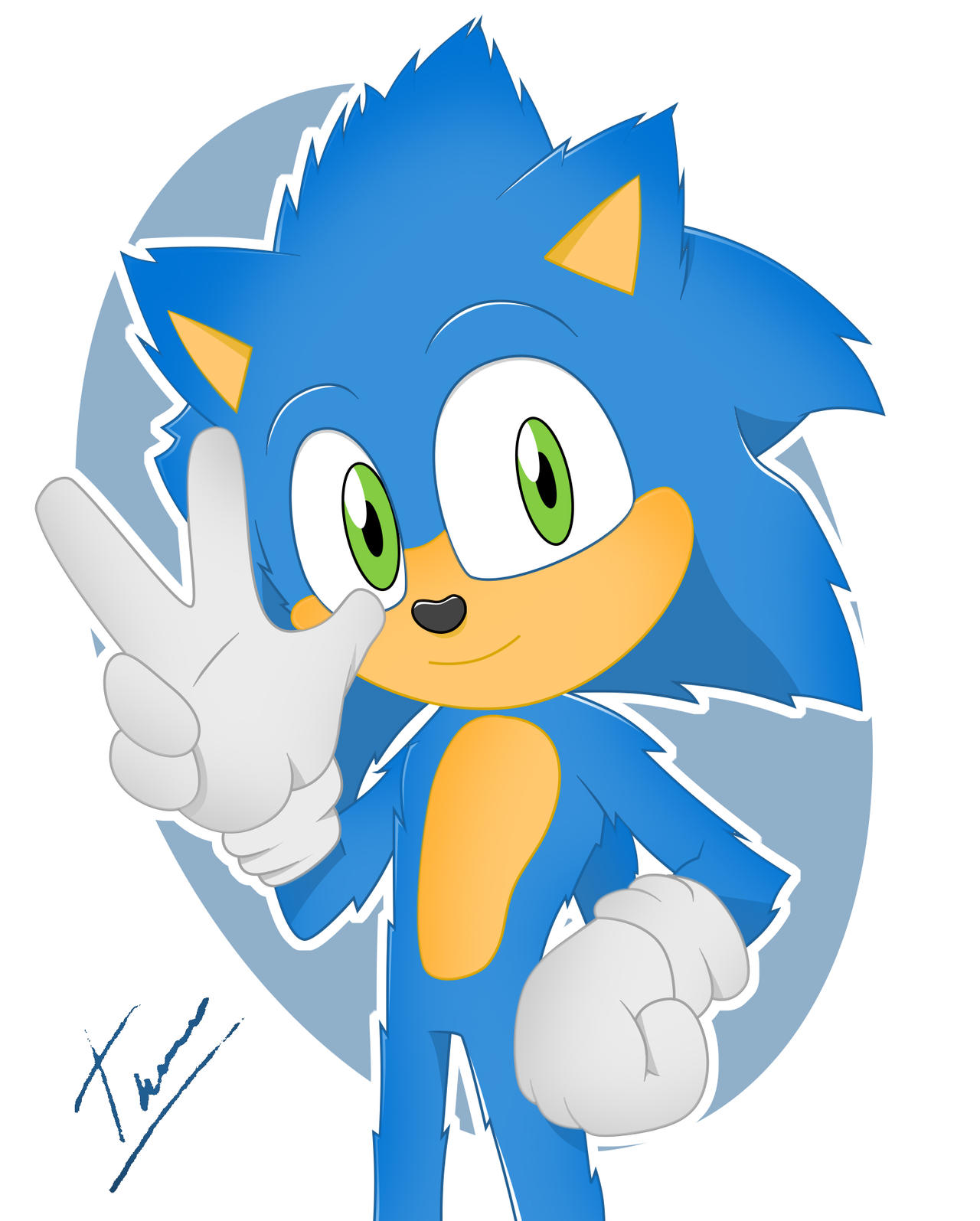 Sonic The Hedgehog Movie Redesign By Tylerbucket On Deviantart