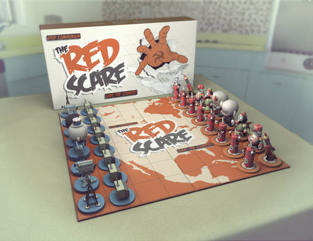 Red Scare Chess Set 01