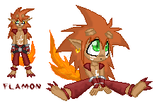 Flamon sprites by metallixfaker