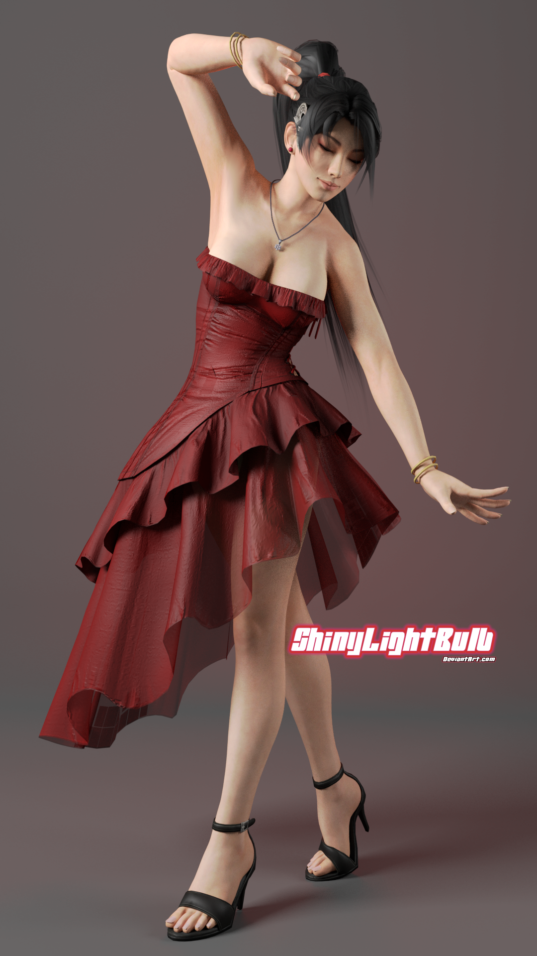 Momiji in dress by ShinyLightBulb