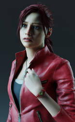 [Test] Claire Redfield by ShinyLightBulb