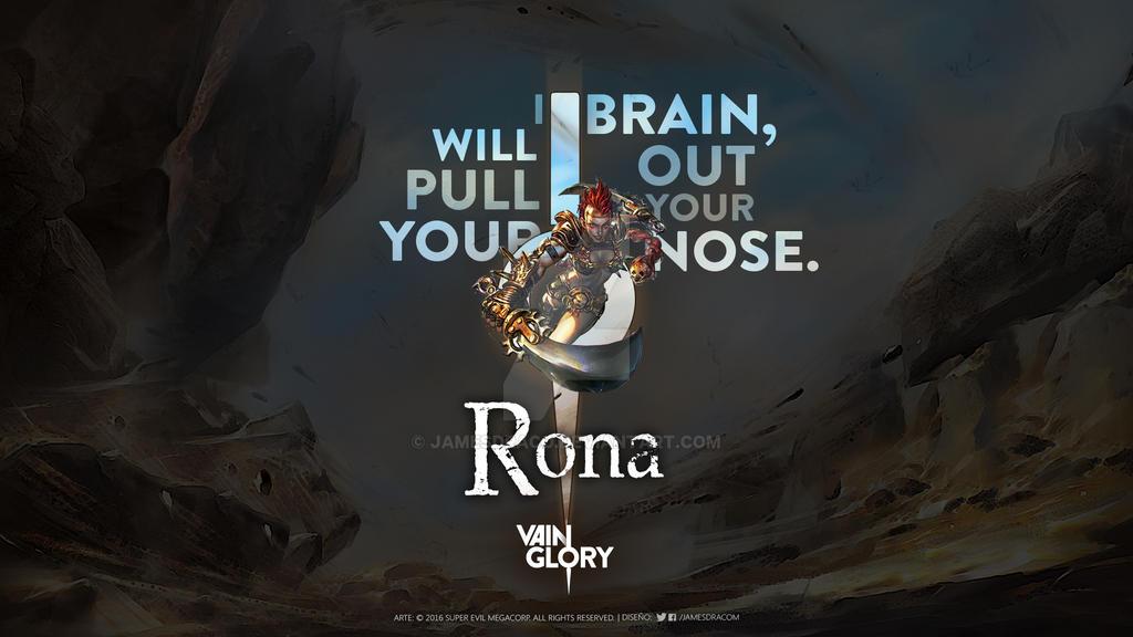 Rona | Wallpaper | Fanart by JamesDraco