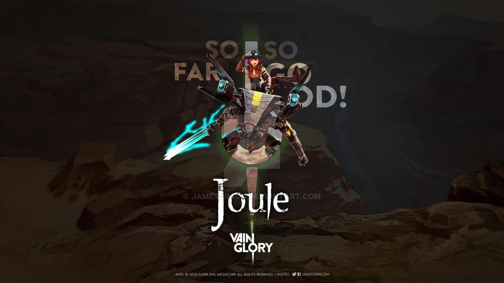 Joule | Wallpaper | Fanart by JamesDraco