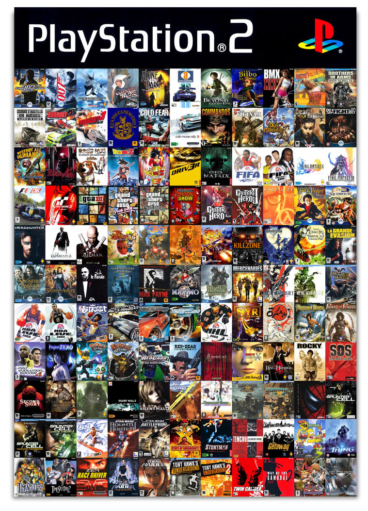 All the PlayStation2 games I ever bought... by ...