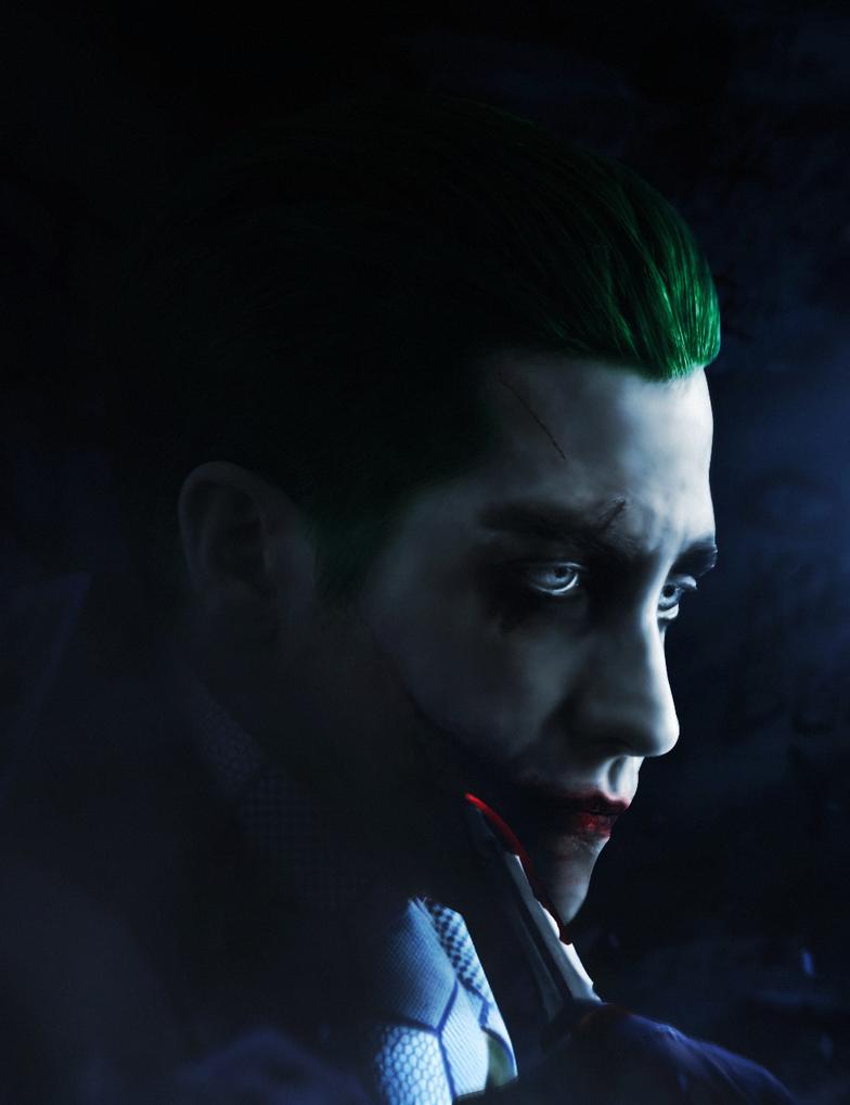 Jake Gyllenhaal Joker ... Jake Gyllenhaal Batman