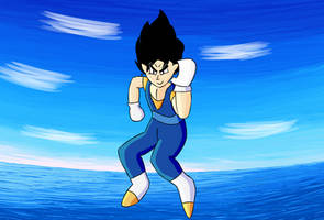 Vegetto is cool and so is the sea