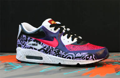 promo code 85159 79717 pastelpig 29 11 Nike Air Max 90 CUSTOM SWEET by paulbeckers