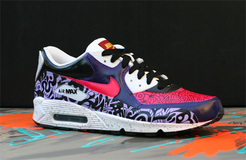 Nike Air Max 90 CUSTOM SWEET by paulbeckers ...