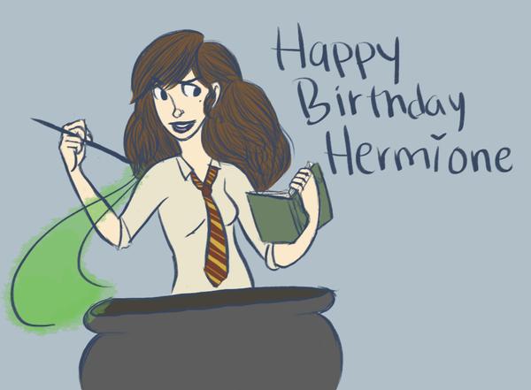 happy birthday hermione by - photo #41