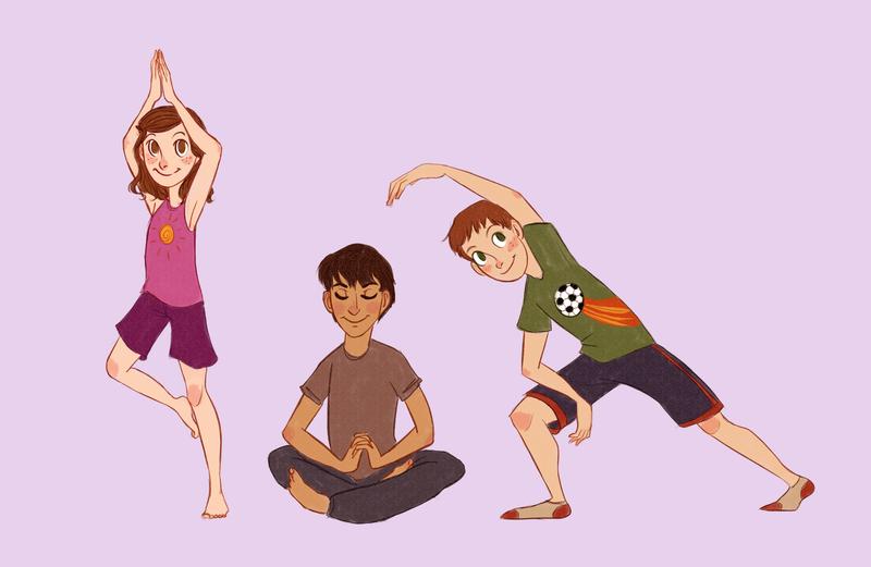yoga kidz by wondernez