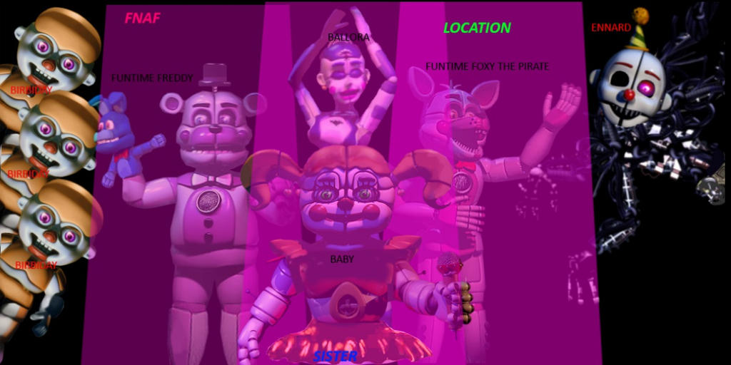 Fnaf Sister Location New Jump Scare Simulator 51 78