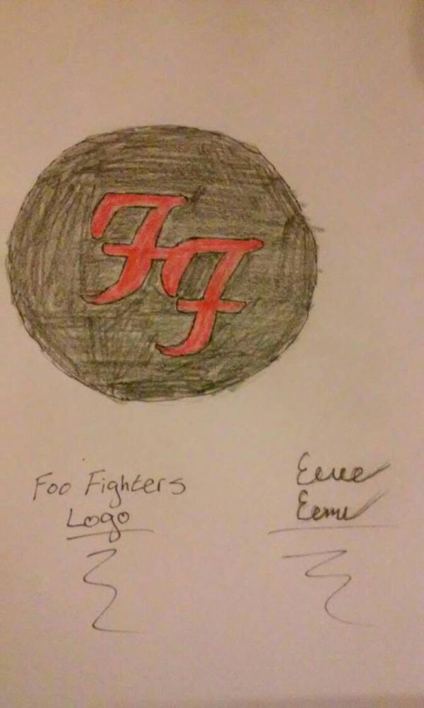 The Foo Fighters Logo  by Sasukebunny10955