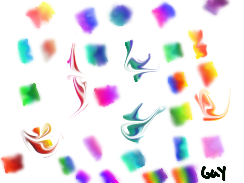 Blending Pretty Colors~ by Sasukebunny10955