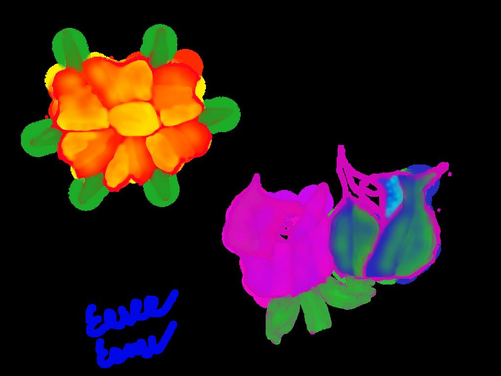 Prettttttyyyyyy Flowers~ by Sasukebunny10955