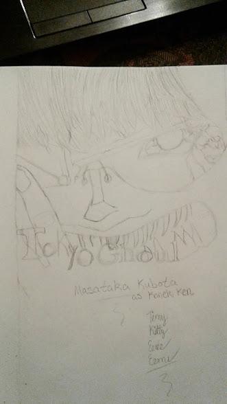 Masataka Kubota Tokyo Ghoul Live Action Poster by Sasukebunny10955