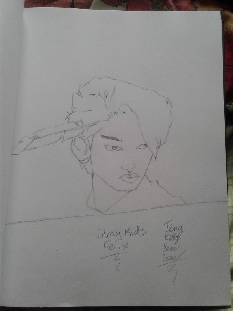 Stray Kids Felix by Sasukebunny10955