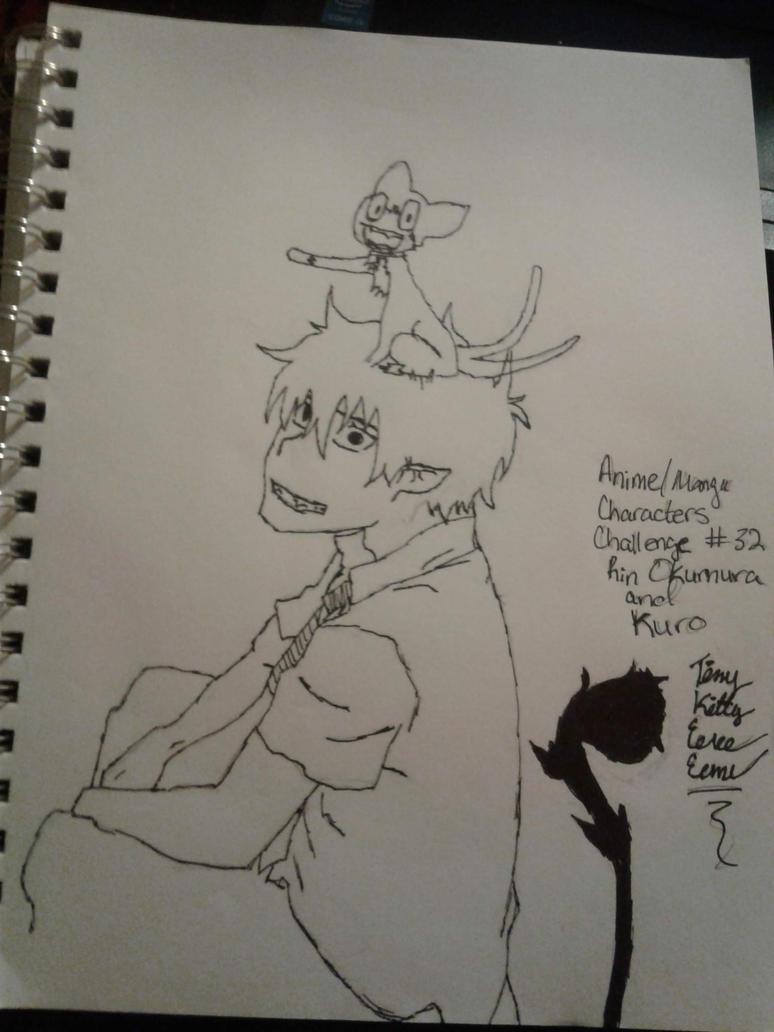 Anime\Manga Characters Challenge #32 Rin and Kuro by Sasukebunny10955