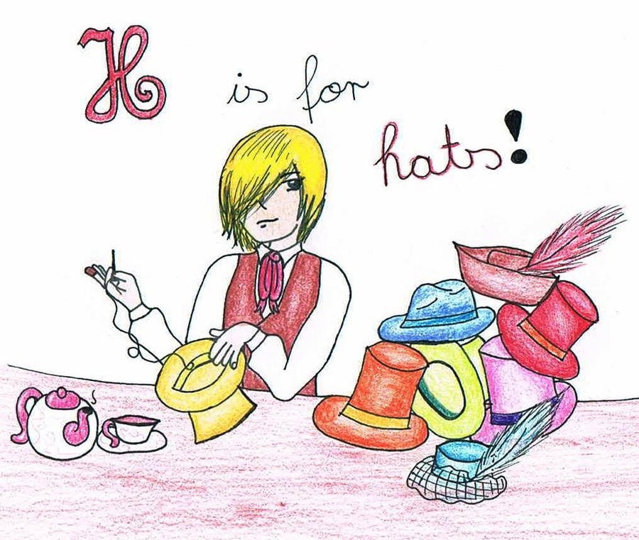 H is for hats. by Mary--Sue