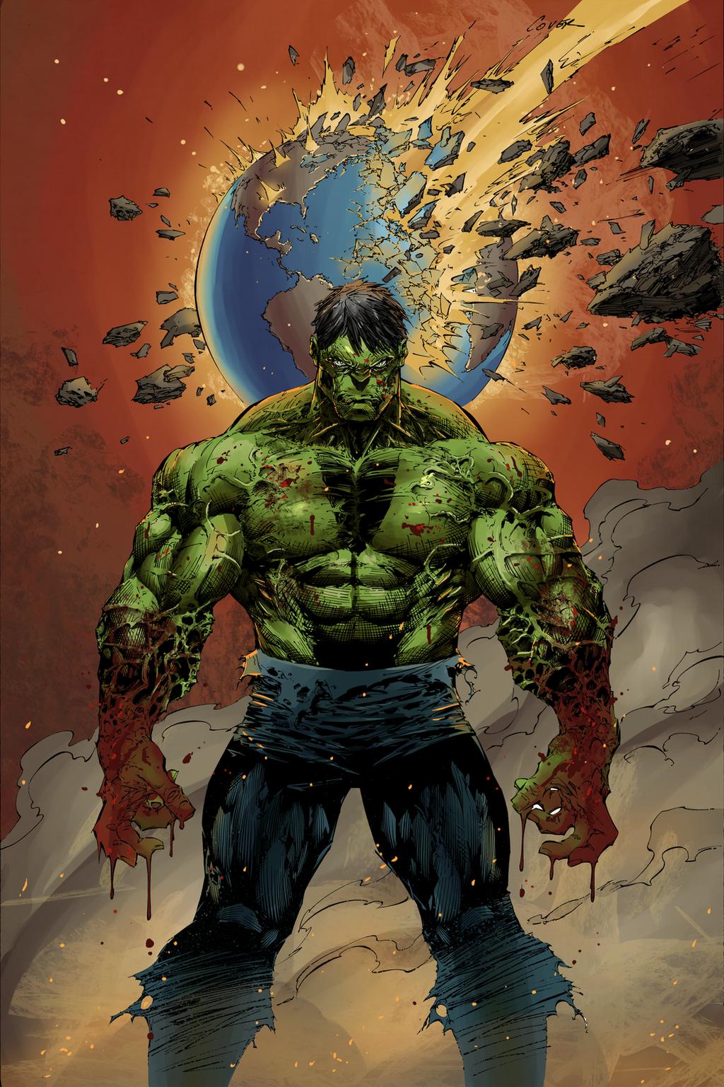 Hulk Asunder by Hitotsumami