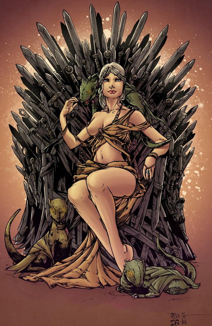 Daenerys Targaryen by Hitotsumami