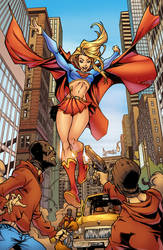 Supergirl by Hitotsumami