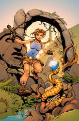Lara Croft - Tomb Raider by Hitotsumami
