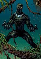 Black Panther by Hitotsumami