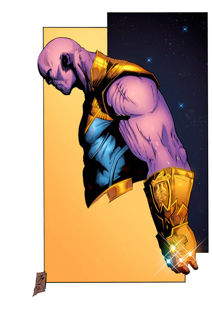 Thanos by Hitotsumami