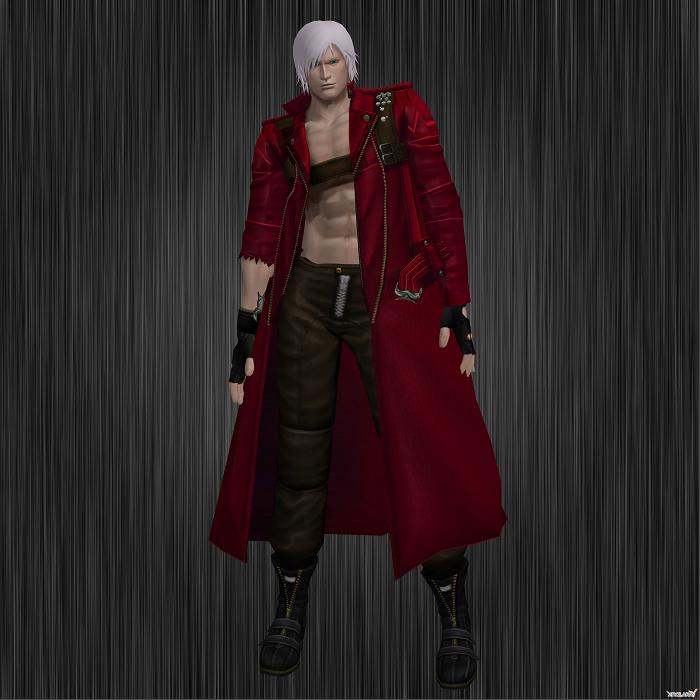 Marvel Vs. Crapcom 3: Dante by RoxasKennedy