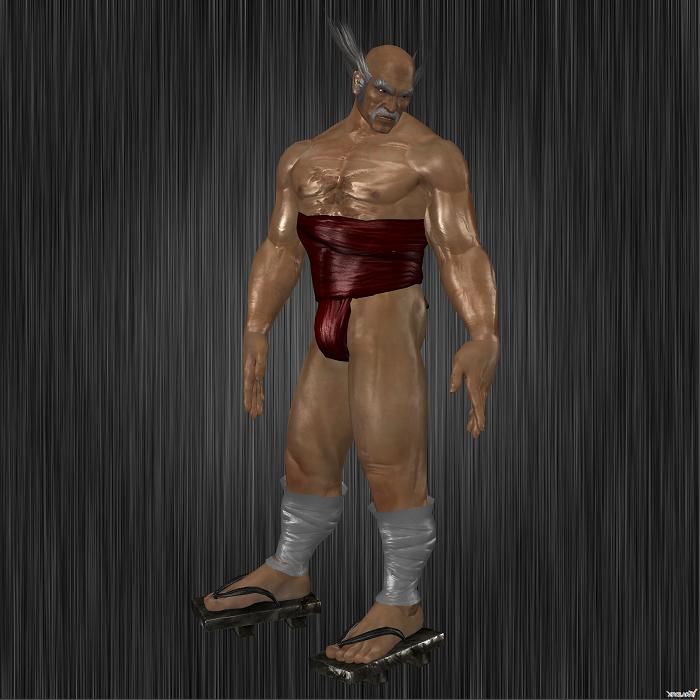 Tekken 6: Heihachi Fundoshi by RoxasKennedy