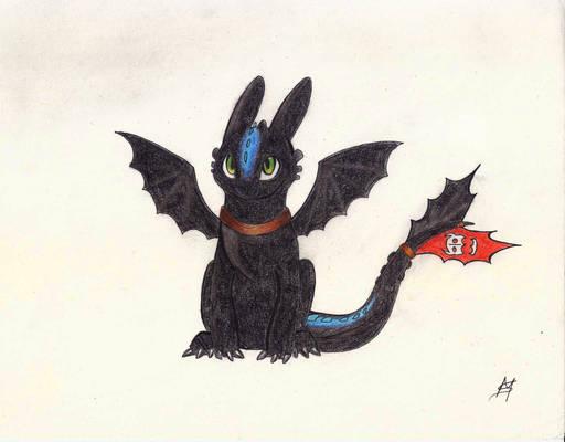 Toothless -  Alpha dragon