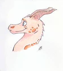 Watercolors Dragon