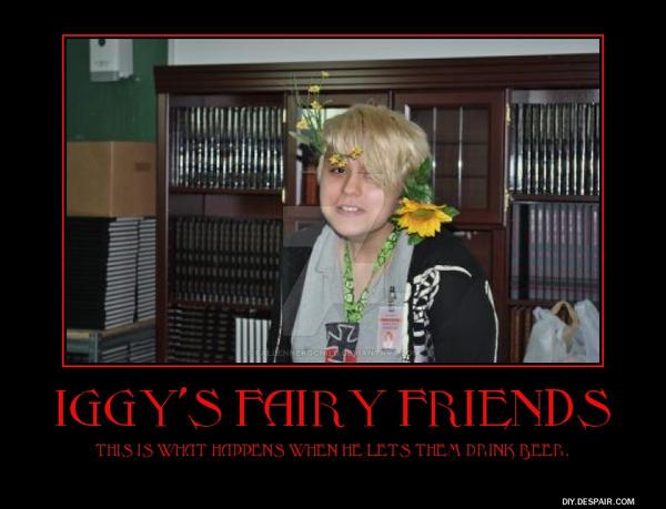 Iggys fairy friends by FallenNekoChild