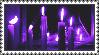 Purple Candle Witch Stamp (F2U)