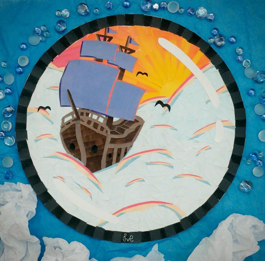 Sailing Through Skies by SydVC