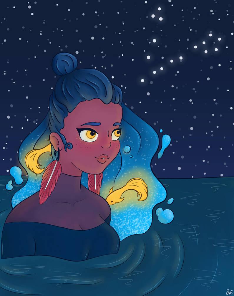 Pisces (Destiny Blue Redraw Challenge)
