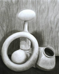 Charcoal Still Life 1