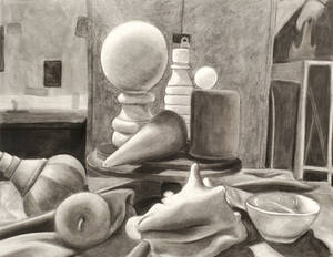 Charcoal Still Life 2