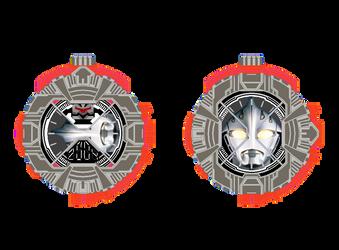 Ultraman Nexus Ridewatch by tlynch34