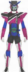 kamen rider TL guardian mewcade armor by tlynch34