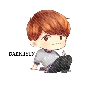 Exo Baekhyun Chibi Png By Sooyounglover-d6vf6k0 by dieajynn898