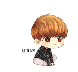 Exo Luhan Chibi Png By Sooyounglover-d6vf6z4 by dieajynn898