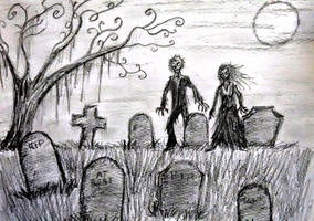 Til Death do us part...or not. by CursedHearse
