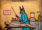 Modern Day Anubis by CursedHearse