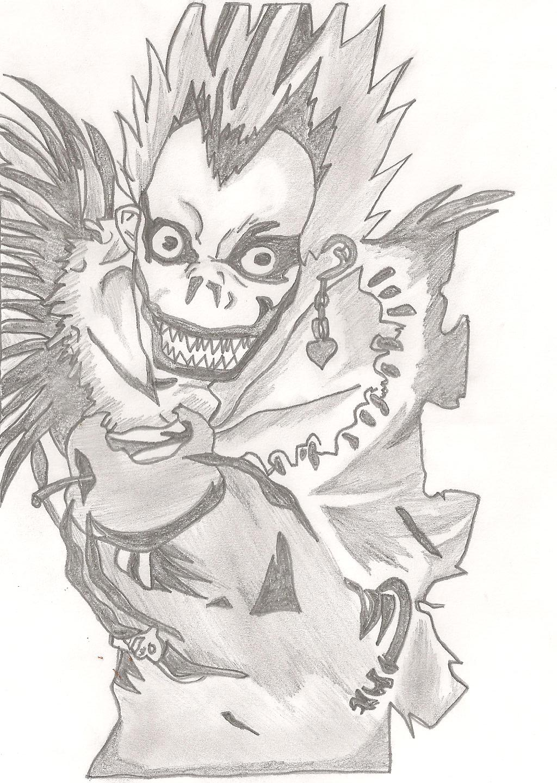 Ryuk Death Note - Shinigami by dorian-acosta15 on DeviantArt