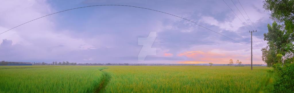 Jalanan Kedungadem by Zucko007