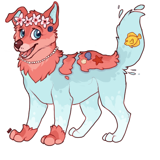 Ren the Waterdog (NEVER FOR TRADE / SALE) by MonsterMeds
