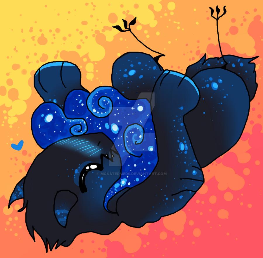 Belly Rubs? by MonsterMeds